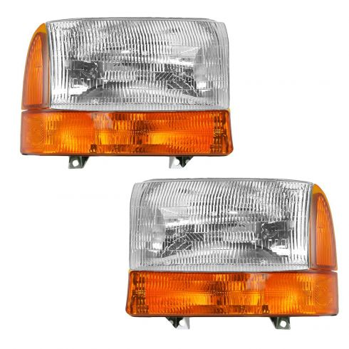 99-00 F250, F350; 00-01 Excursion Headlight & Corner Light Kit