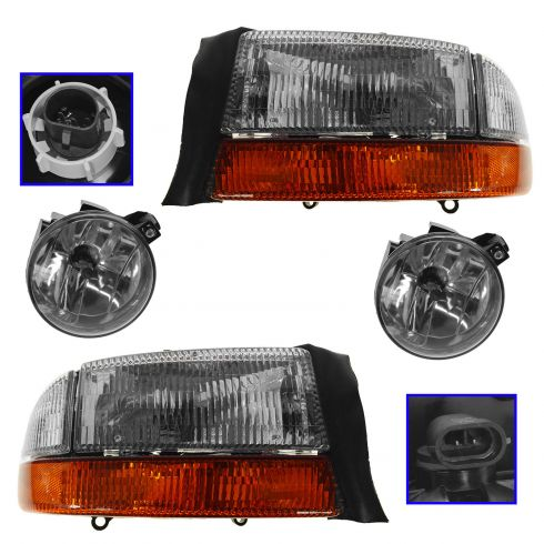 TYC 19-5561-00-1 Compatible with DODGE Left Replacement Fog Lamp