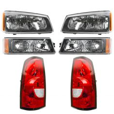 05-07 Silverado Fleetside Headlight, Taillight and Turn Signal Kit