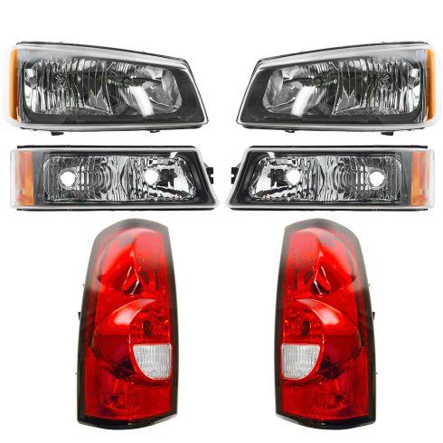 05-07 Silverado Fleetside Headlight, Taillight and Turn Signal Kit