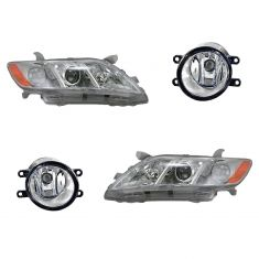 07-09 Toyota Camry Base, LE, CE, XLE Lighting Kit (4 Piece)
