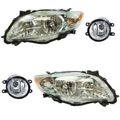 09-10 Toyota Corolla Front Lightinh Kit (4 Piece)