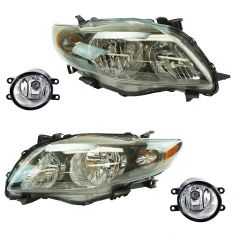 09-10 Toyota Corolla Front Lighting Kit (4 Piece)