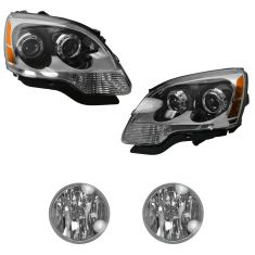08-12 GMC Acadia Front Lighting Kit (4 Piece)