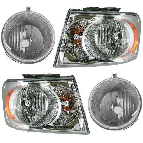 1ALHT00189-2007-09 Dodge Durango Lighting Kit