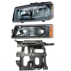 05-07 Chevy Silverado Front Lighting Kit LH (3 Piece)