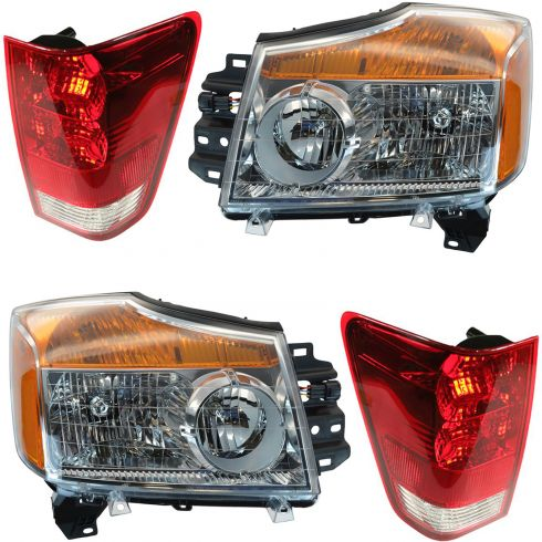 How to Replace Headlight 08-15 Nissan Titan | 1A Auto
