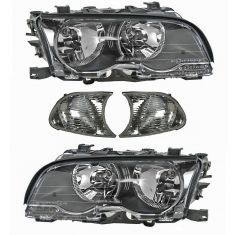 00-01 BMW 3 Series Front Lighting Kit Clear (4 Piece)