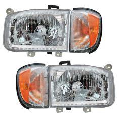 12/98-04 Nissan Pathfinder Front Lighting Kit (4 Piece)