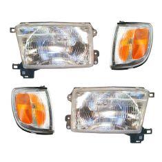 97-98 Toyota 4Runner Front Lighting Kit (4 Piece)