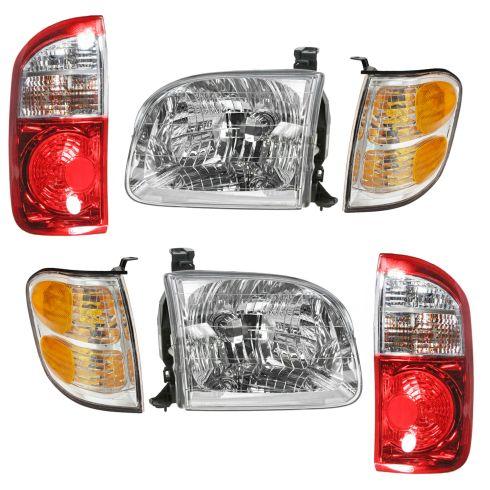 04 Toyota Tundra Front & Rear Lighting Kit (6 Piece)