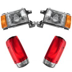 87-90 Ford Truck Bronco Front & Rear Lighting Kit (4 piece)