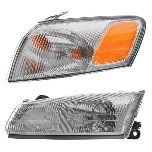 97 99 Toyota Camry Lighting Kit Lh 2 Piece