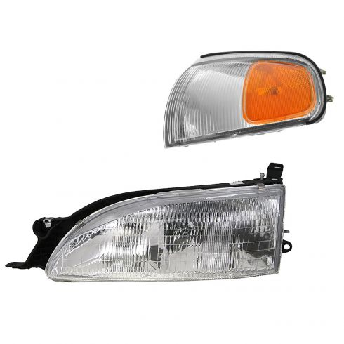 95-96 Toyota Camry Lighting Kit LH (2 piece)