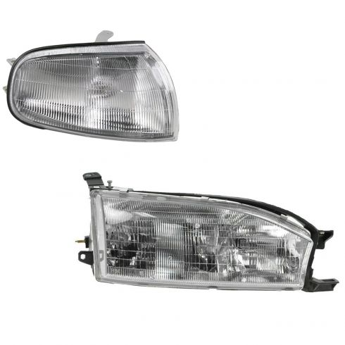 92-94 Toyota Camry Lighting Kit RH (2 piece)