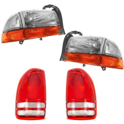 How to Replace Tail Lights 97-04 Dodge Dakota | 1A Auto
