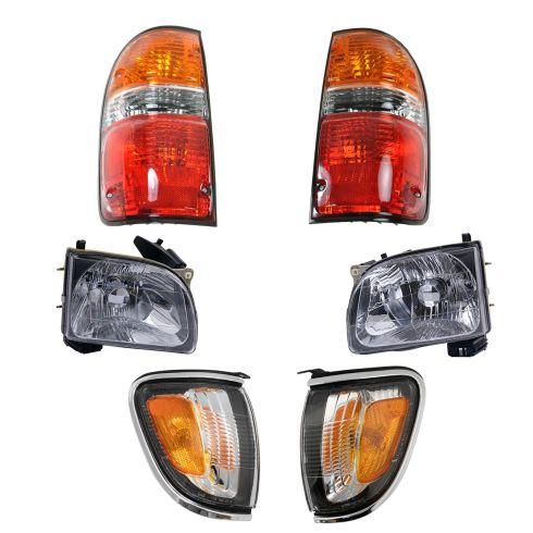 01-04 Toyota Tacoma Front & Rear Lighting Kit (6 Piece)