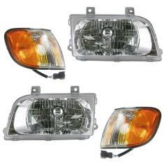 01-02 Kia Sportage Front Lighting Kit (4 Piece)