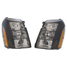 07-14 Esclde, ESV; 09-13 EXT Blk Bzl Xenon Proj HID (w/o Ballast, Bulbs, LED) Performance Headlt PR
