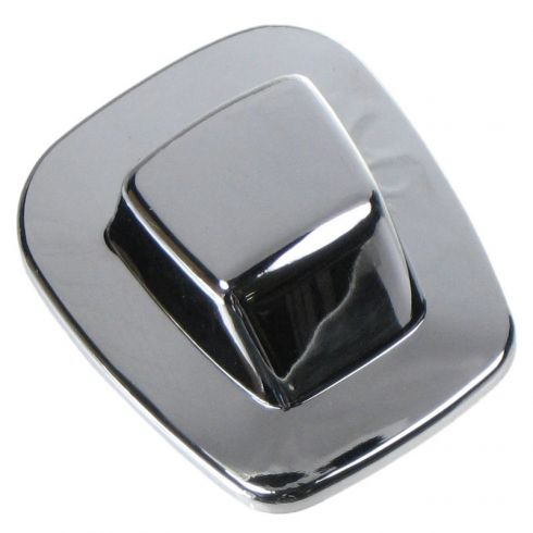 1985-00 GM Truck Rear License Plate Lens Assy for Chrome Step Bumper LH = RH