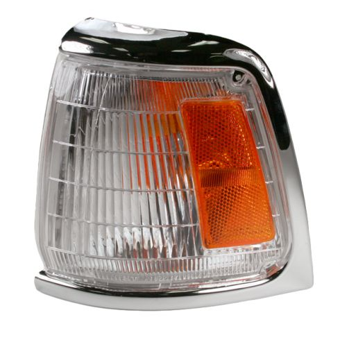 81620-89177 For 1989-1991 Toyota Pickup Park//Clearance Light Driver Side TO2520122 2WD; standard; Chrome