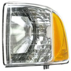 99-01 Dodge Ram 1500; 99-02 2500 3500 Sport Models Corner Parking Light LF
