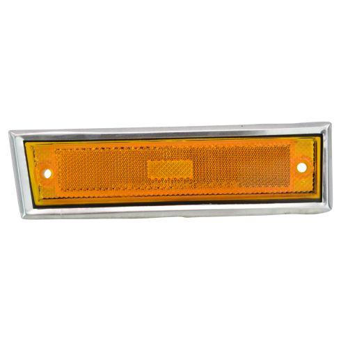 81-91 Blazer Jimmy; 81-87 Chevy, GMC C/K; 88-91 R/V, Suburban Side Marker Light (w/Chrome Bezel) RF
