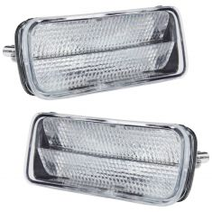 1985-92 Chevy Camaro Z28 Clear Parking Light Pair