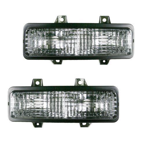 89-91 Blazer Sig Lght w/dual HL Park Light Pair