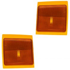1994-02 Chevy GMC Truck Lower Marking Light Pair for Composite Headlights