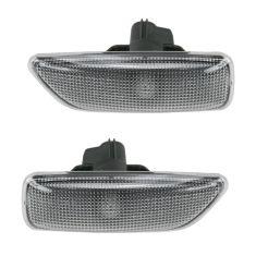 99-11 Volvo S V XC Fnd Mtd Side Mkr Lamp Light Pair