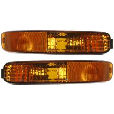 02-04 Jeep Liberty Parking Turn Signal Light Front PAIR