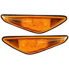3/03-06 BMW 325i 330i Cpe & Conv Side Repeater Light w/ Yellow Lens PAIR