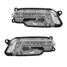 10-11 MB E350, E550, E63 AMG Daytime Running Light w/LED Bar PAIR