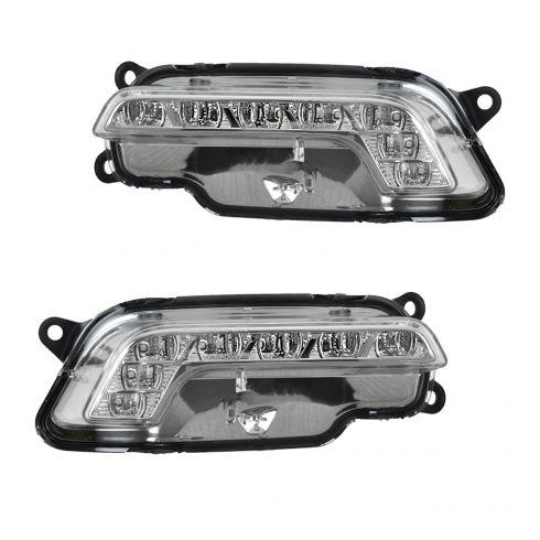 10-11 MB E350, E550, E63 AMG Daytime Running Light w/LED Bar PAIR