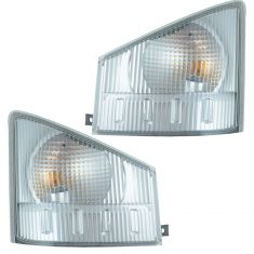 07-11 Isuzu N-PR, N-QR; GMC W3500-5500 Series Front Turn Signal/ Parking/ Side Marker Light PAIR