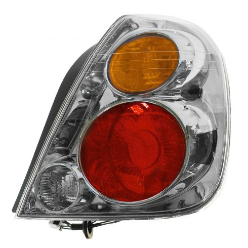 Tail Light Assembly Compatible with 2002-2004 Nissan Altima Passenger Side