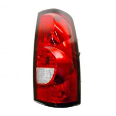 04-07 Chevy Silverado Fleetside Taillight RH