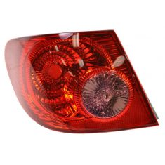 2004-08 Toyota Corolla Tail Light LH