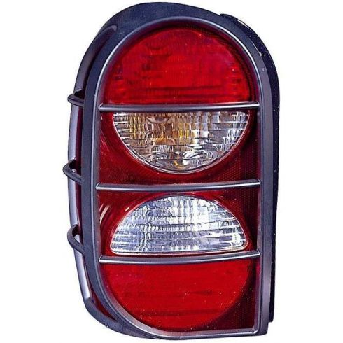 2005 06 Jeep Liberty Taillight W Guard Lh