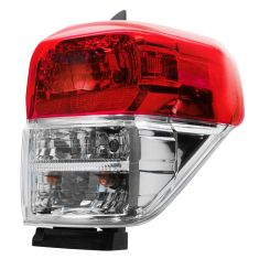 10-13 Toyota 4Runner Taillight w/Chrome Bezel RH