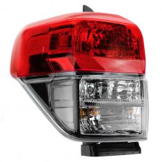 10-13 Toyota 4Runner Taillight w/Black Bezel LH