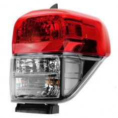 10-13 Toyota 4Runner Taillight w/Black Bezel RH