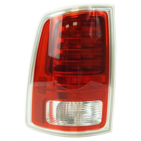 13-17 Ram 1500; 13-16 2500, 3500 L.E.D. Design w/Chrome Trim Taillight LH