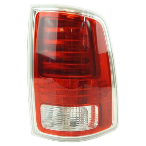 13-17 Ram 1500; 13-16 2500, 3500 L.E.D. Design w/Chrome Trim Taillight RH