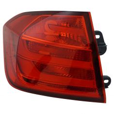 12-15 BMW 320i; 328i; 335i Sedan Tail Light LH