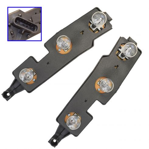 88-01 GM Trucks Taillight Connector Plate Pair