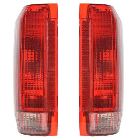 90-96 Ford Bronco Tail Light Pair