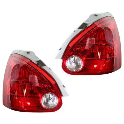 2004-06 Nissan Maxima Tail Light Pair