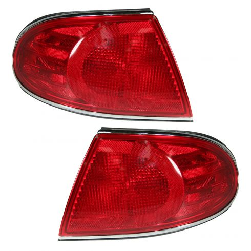 01-05 Buick Lesabre 1/4 Panel Mtd Taillight Pair